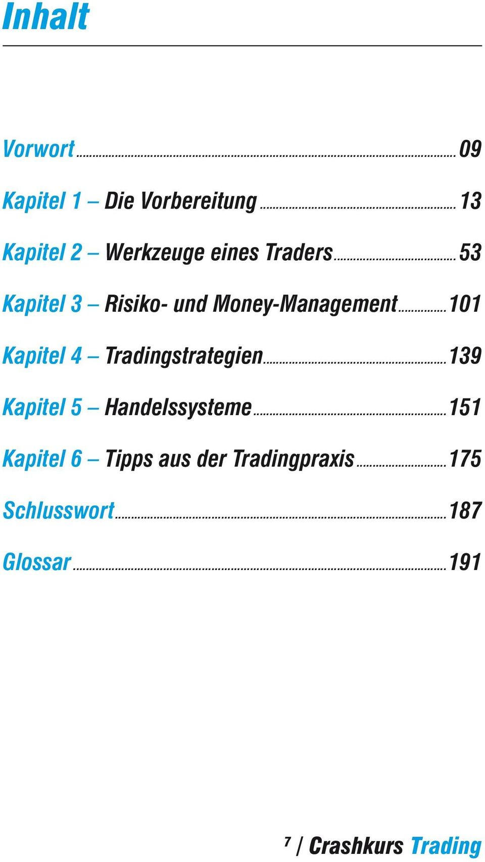 ..53 Kapitel 3 Risiko- und Money-Management.