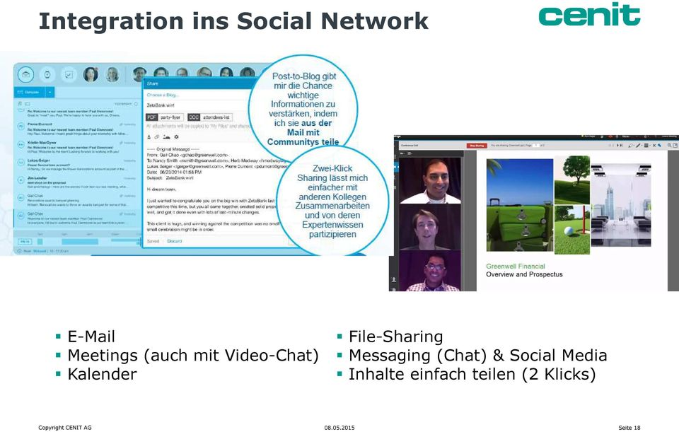 File-Sharing Messaging (Chat) & Social