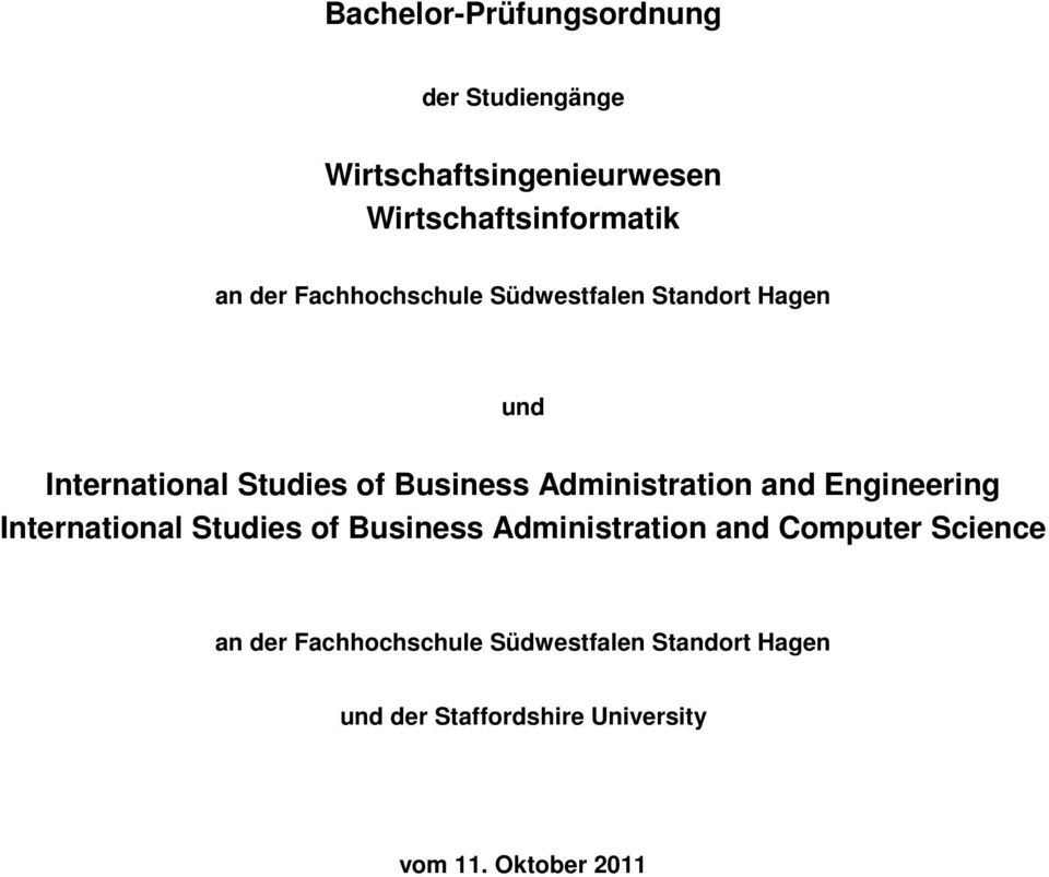 Administration and Engineering International Studies of Business Administration and Computer