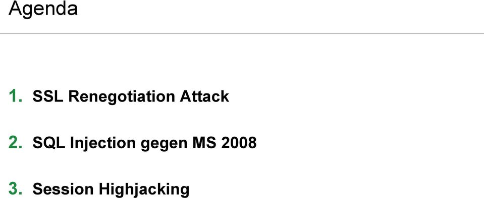 Session Highjacking ERNW GmbH.