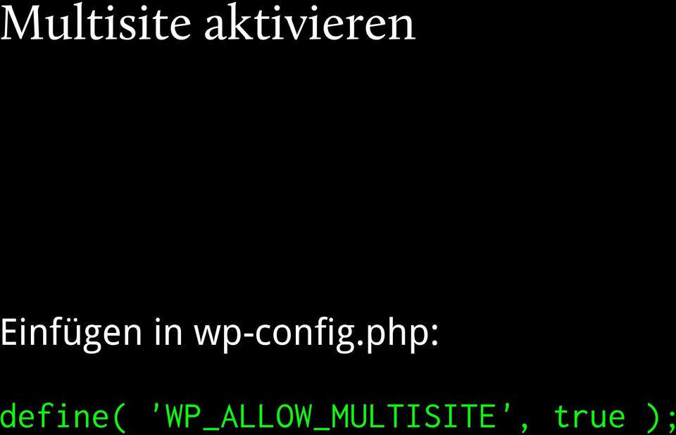 php: define(