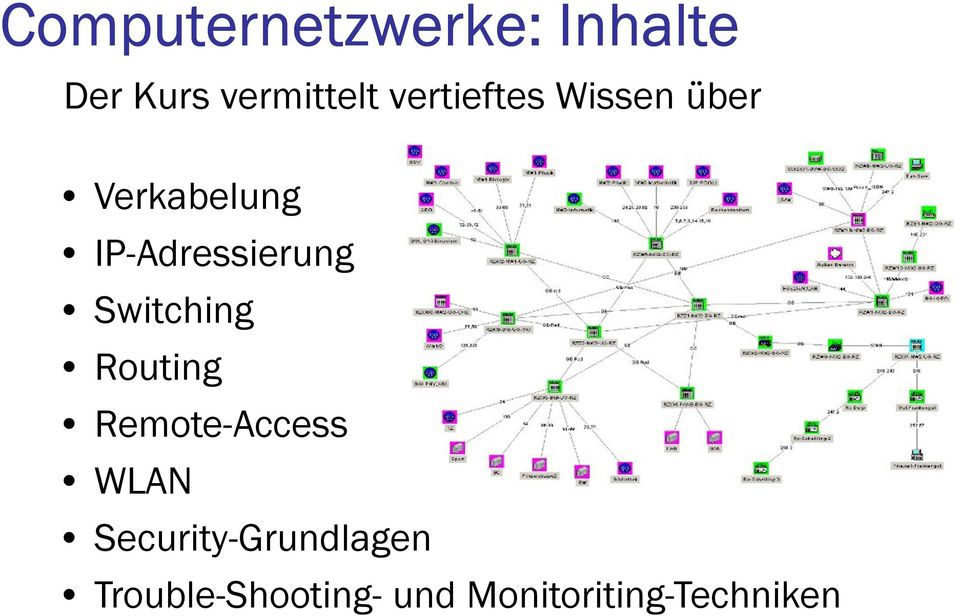 IP-Adressierung Switching Routing Remote-Access