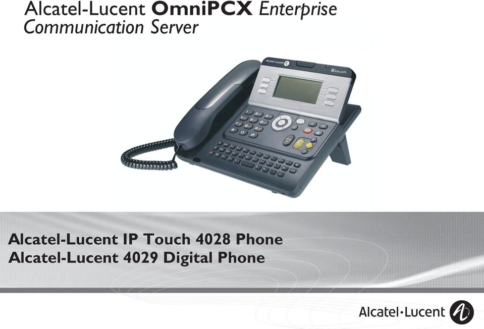 Server Alcatel-Lucent IP Touch