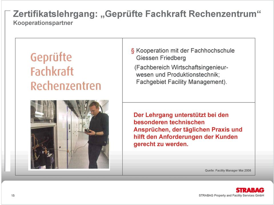 Fachgebiet Facility Management).