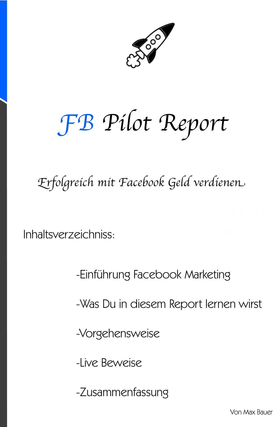 verdienen -Einführung Facebook Marketing -Was Du in diesem