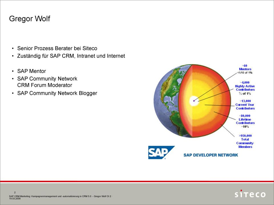 Internet SAP Mentor SAP Community Network