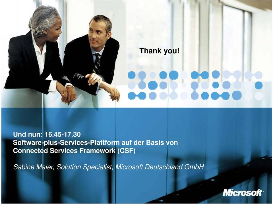 Basis von Connected Services Framework (CSF)