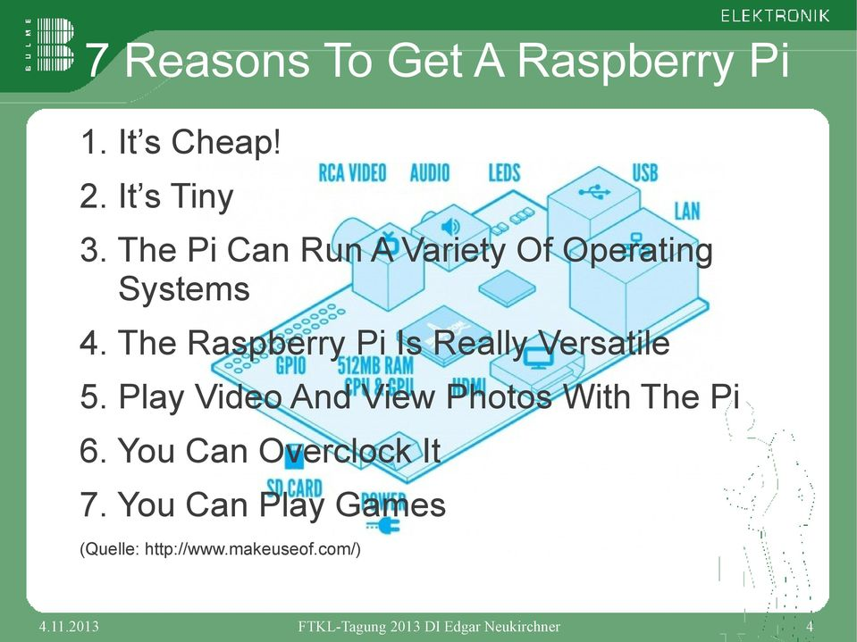 The Raspberry Pi Is Really Versatile 5.