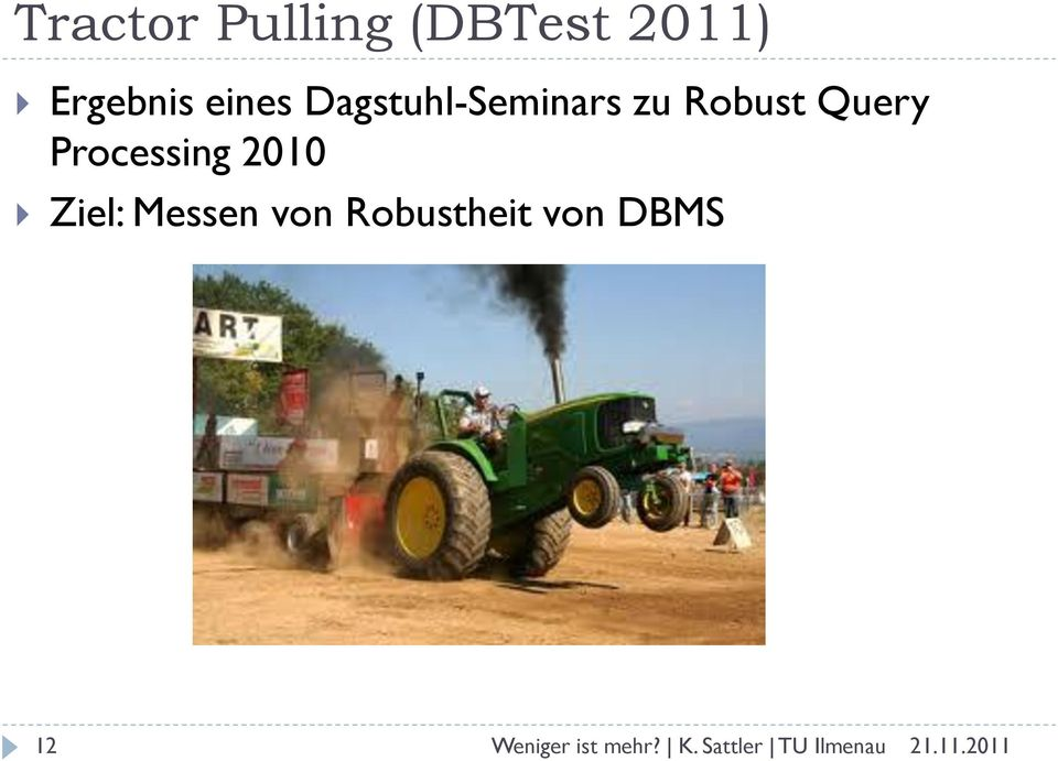 zu Robust Query Processing 2010