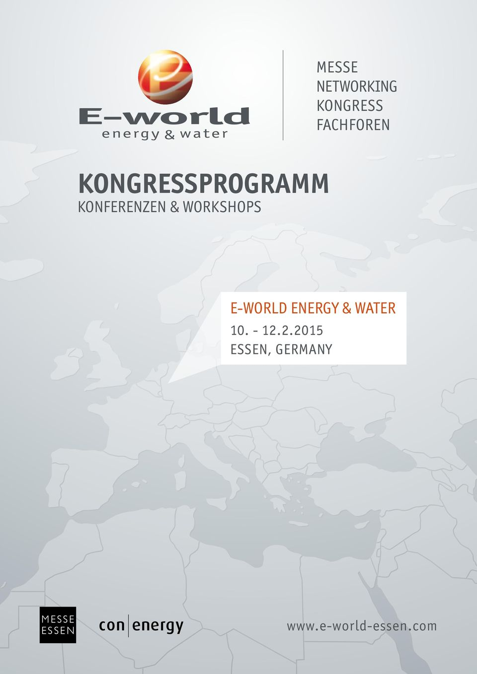 Workshops E-world energy & water 10.