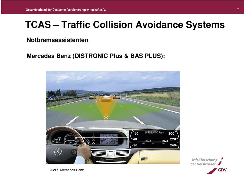 7 TCAS Traffic Collision Avoidance Systems