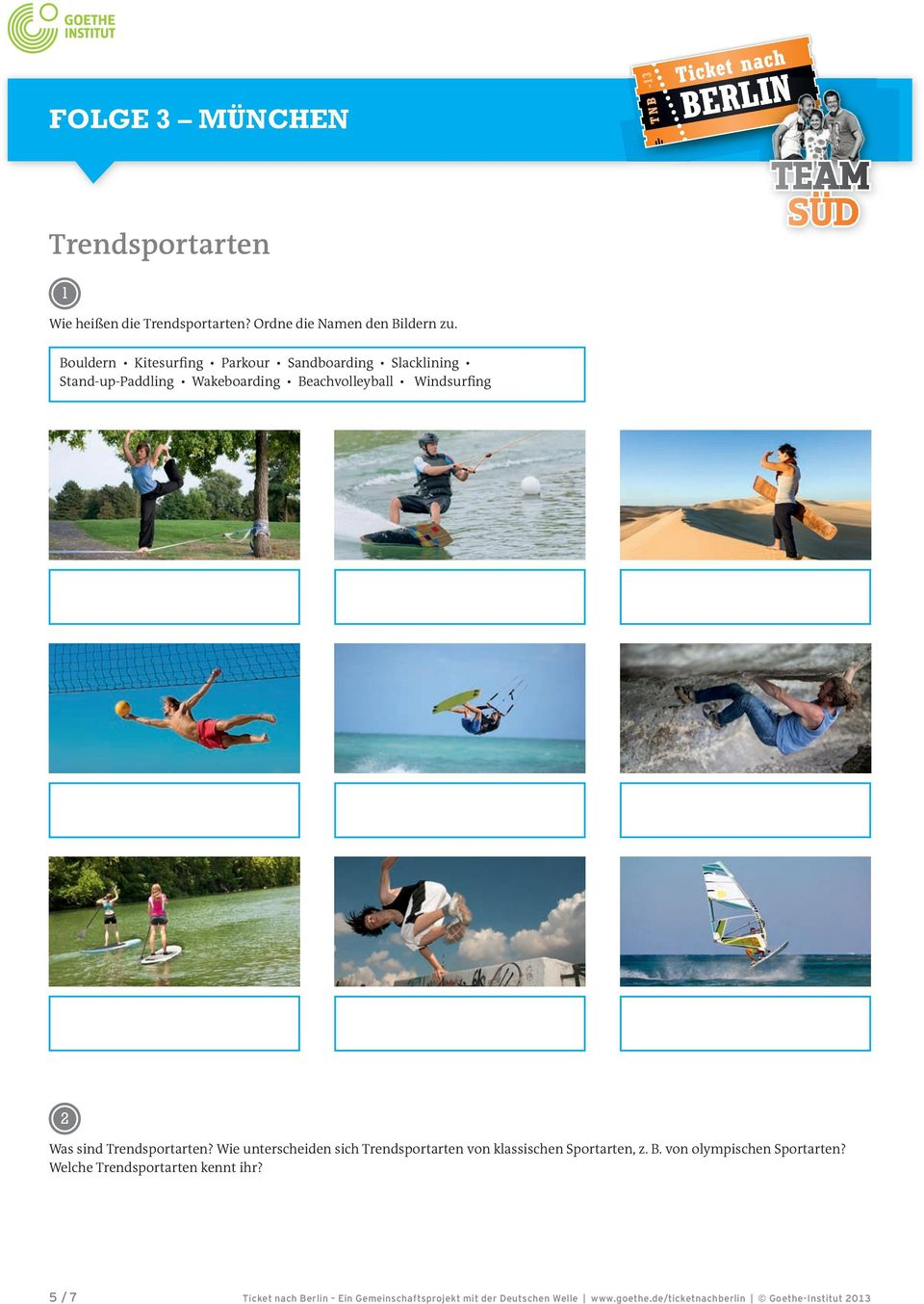 Beachvolleyball Windsurfing Was sind Trendsportarten?