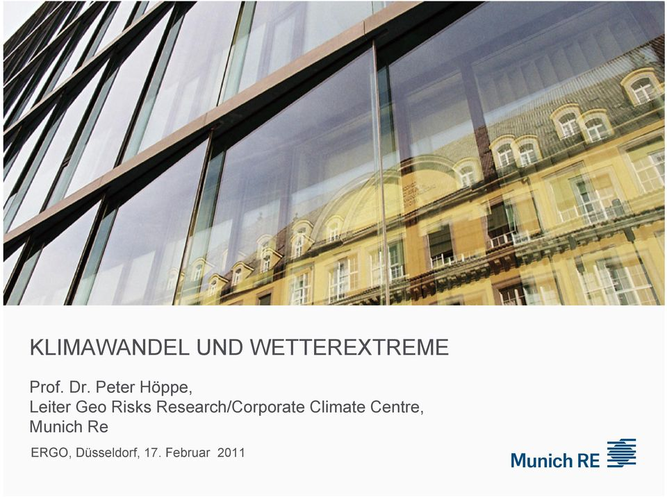 Research/Corporate Climate Centre,