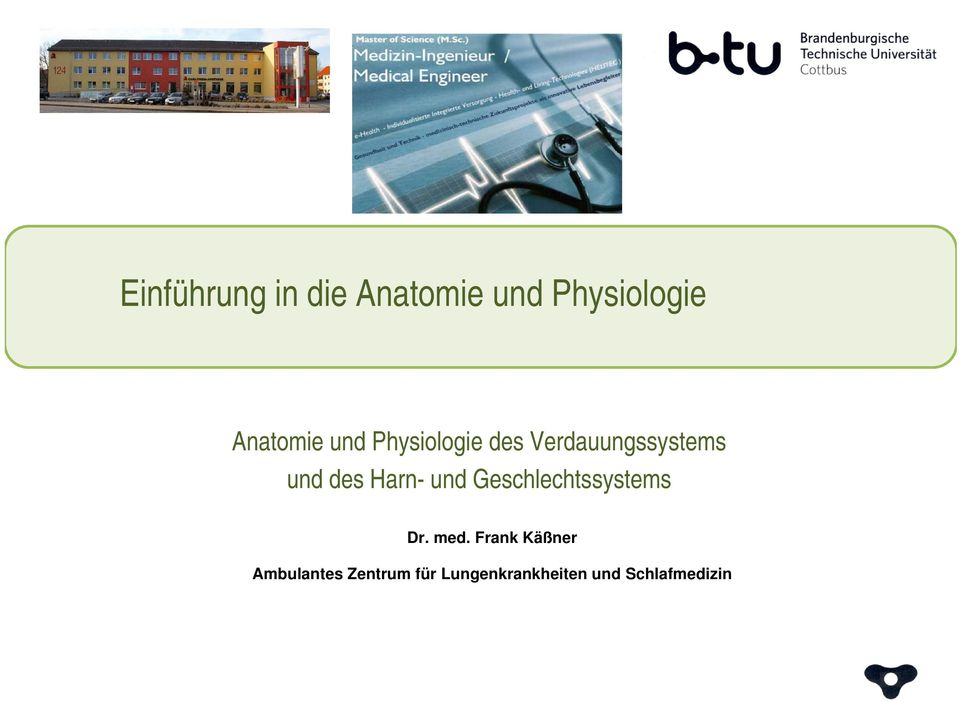 Physiologie des