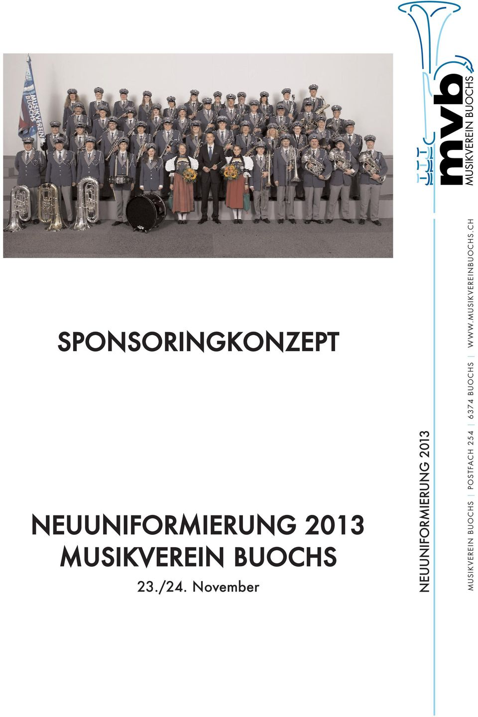 November MUSIKVEREIN BUOCHS
