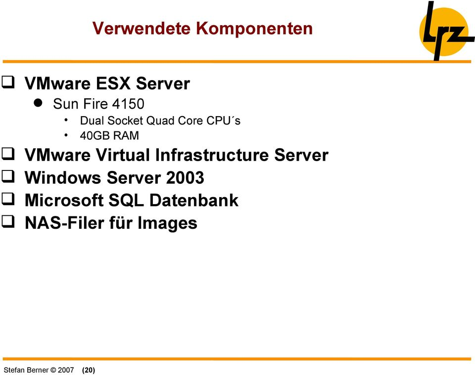 Infrastructure Server Windows Server 2003 Microsoft