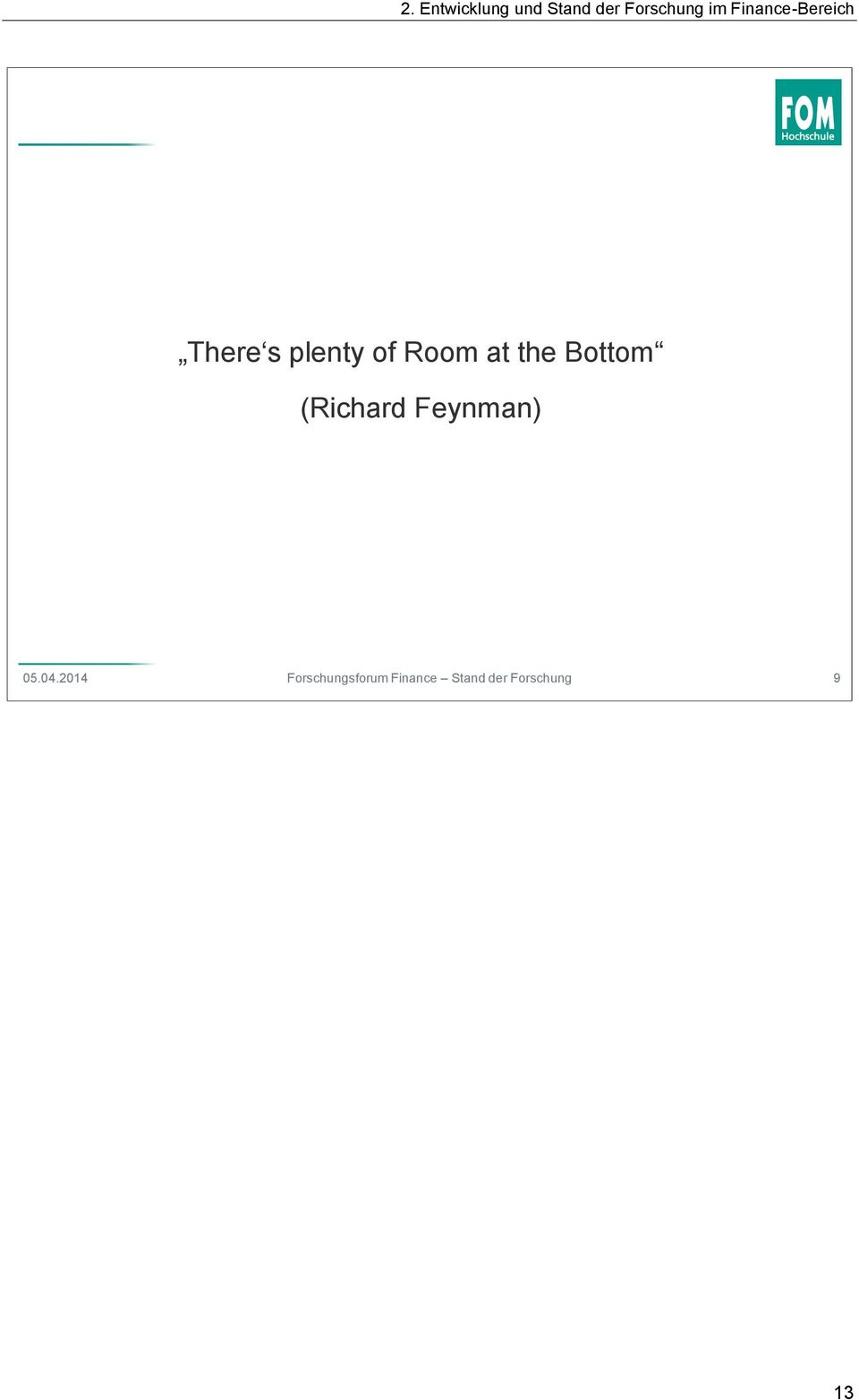 Room at the Bottom (Richard Feynman)