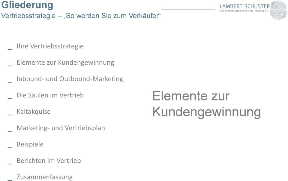 Outbound-Marketing _ Die Säulen im Vertrieb _ Kaltakquise _ Marketing- und