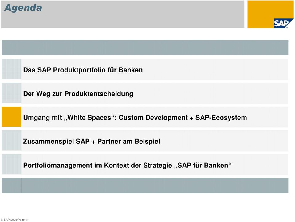 Development + SAP-Ecosystem Zusammenspiel SAP + Partner am