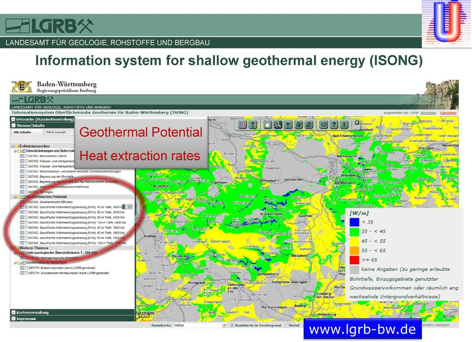 (ISONG) Geothermal Potential