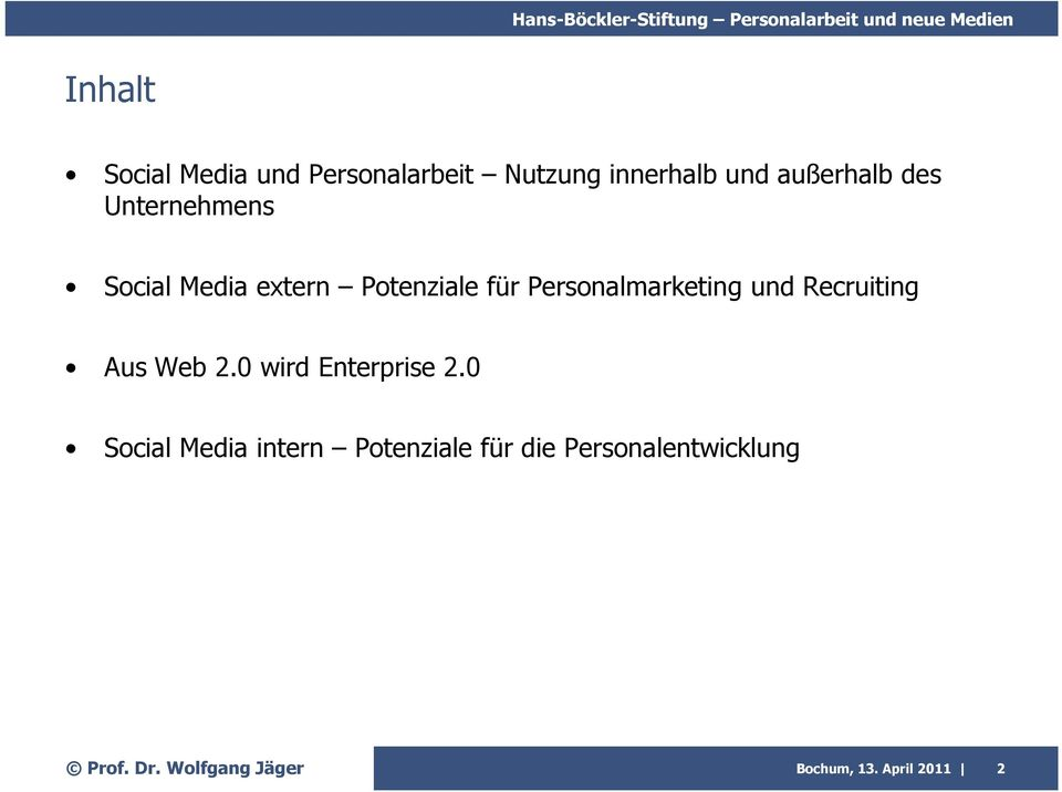 Personalmarketing und Recruiting Aus Web 2.