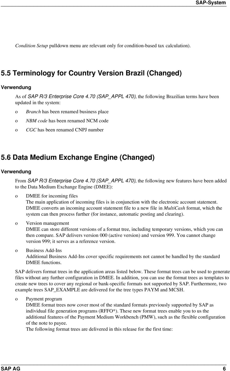 6 Data Medium Exchange Engine (Changed) Frm SAP R/3 Enterprise Cre 4.