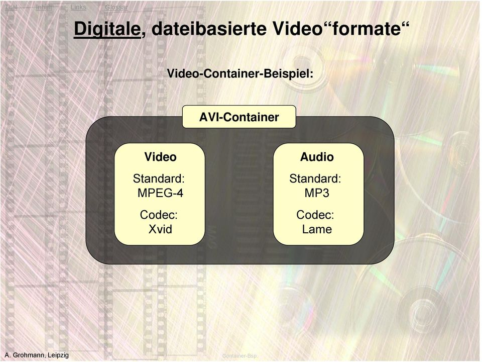Video Standard: MPEG-4 Codec: Xvid Audio