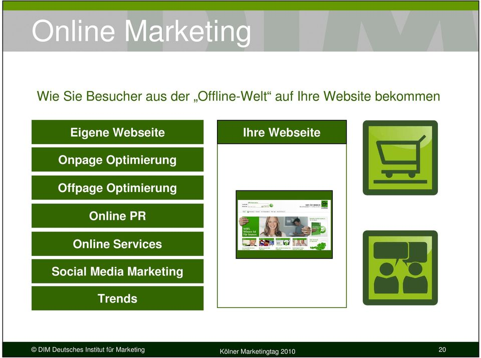 Offpage Optimierung Online PR Online Services Social Media