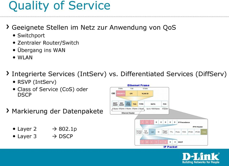 Services (IntServ) vs.