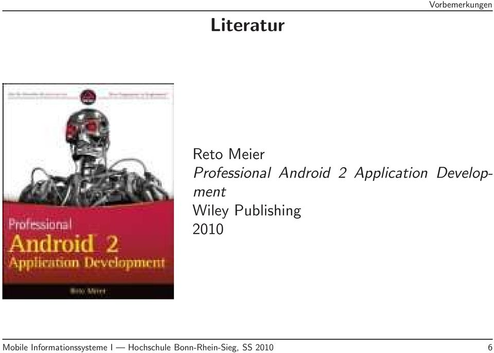 Development Wiley Publishing 2010 Mobile