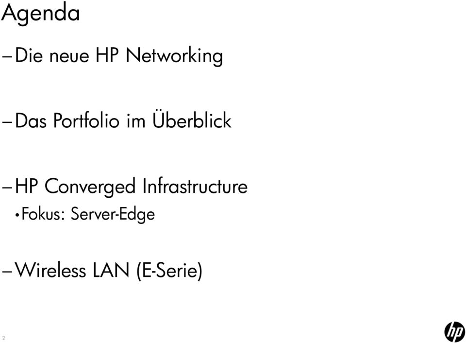Converged Infrastructure Fokus: