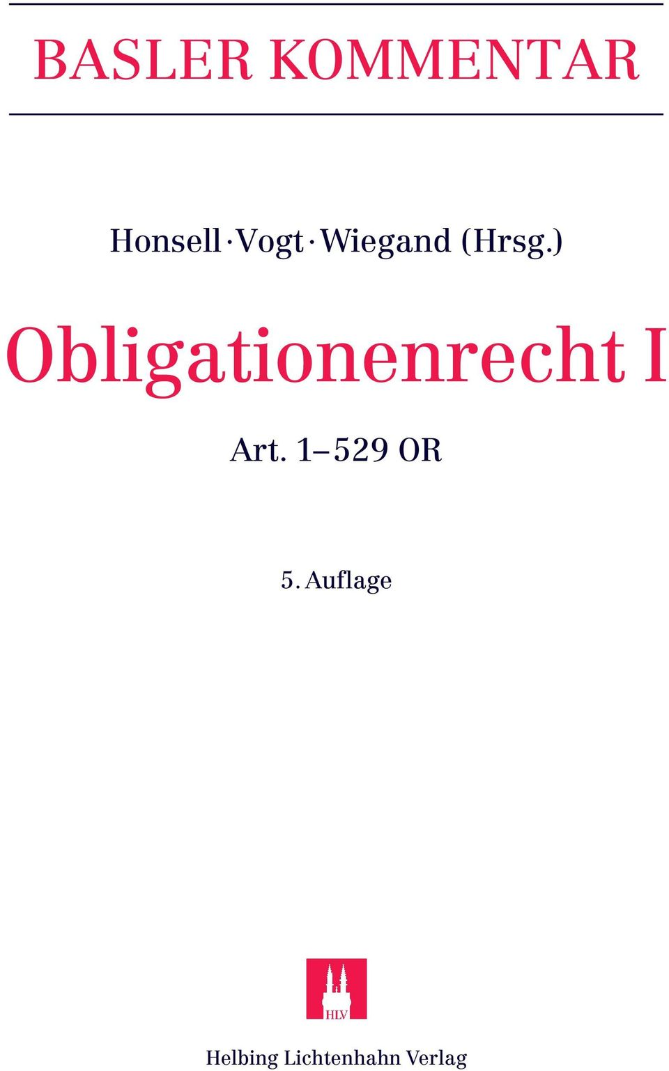 ) Obligationenrecht I Art.