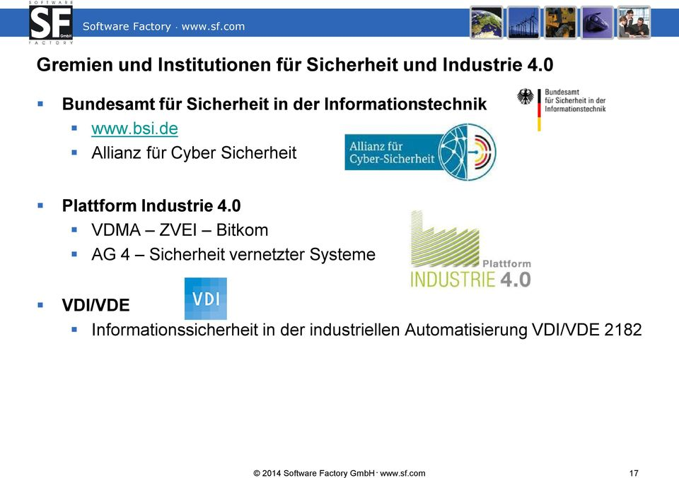 de Allianz für Cyber Sicherheit Plattform Industrie 4.