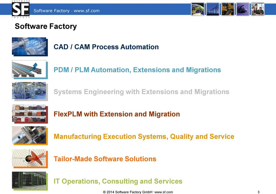 and Migration Manufacturing Execution Systems, Quality and Service Tailor-Made