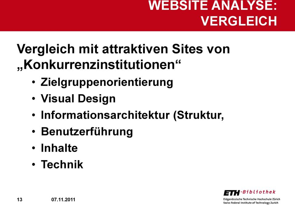 Visual Design Informationsarchitektur (Struktur,