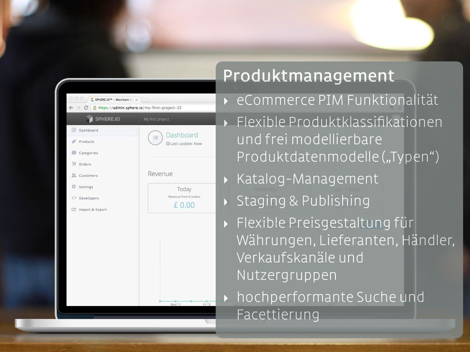 Katalog-Management Staging & Publishing Flexible Preisgestaltung für
