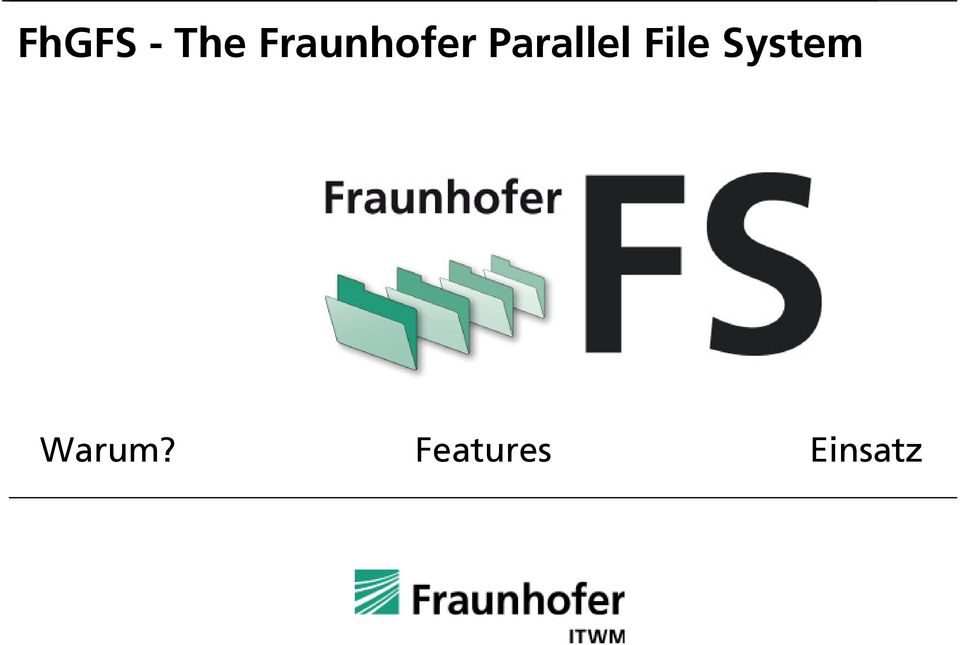 Parallel File