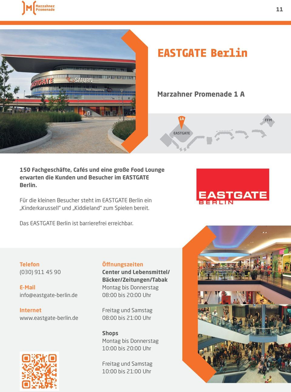 (030) 911 45 90 E-Mail info@eastgate-berlin.