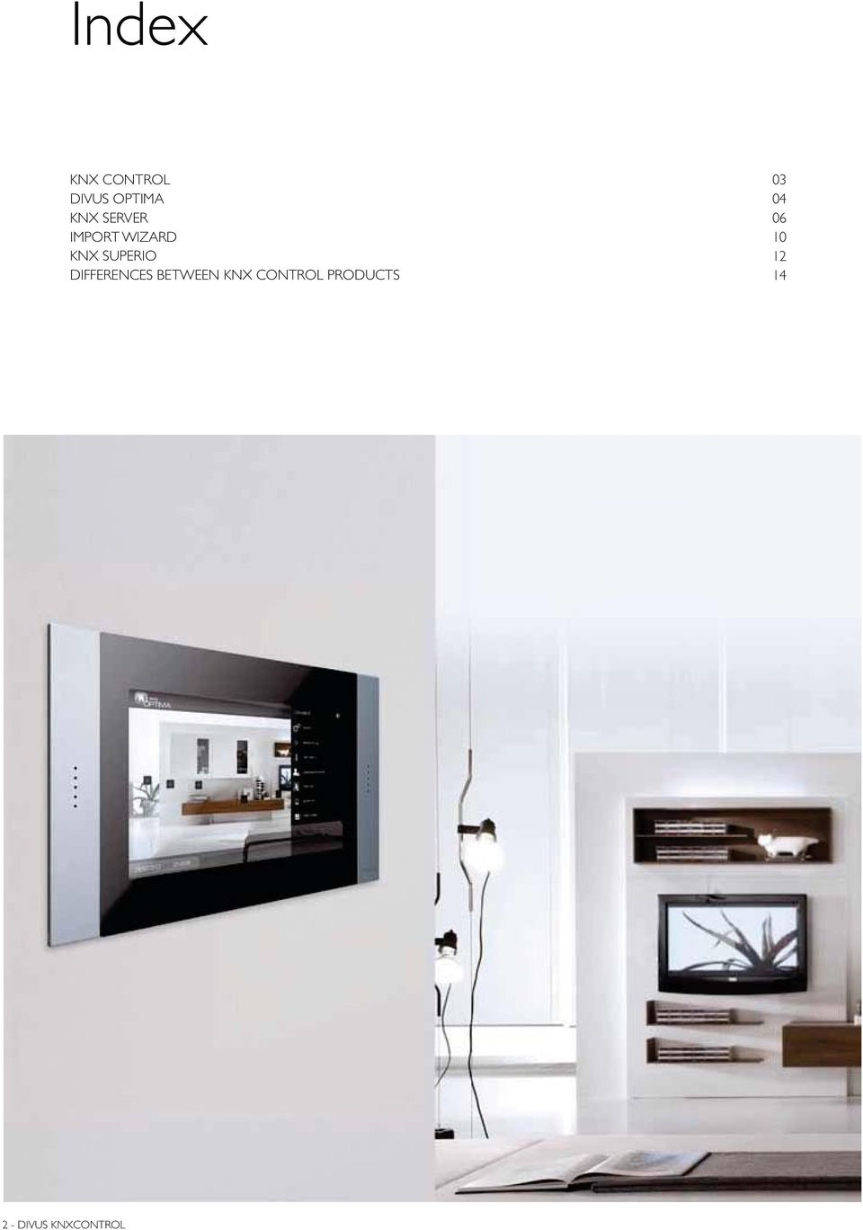 DIFFERENCES BETWEEN KNX CONTROL