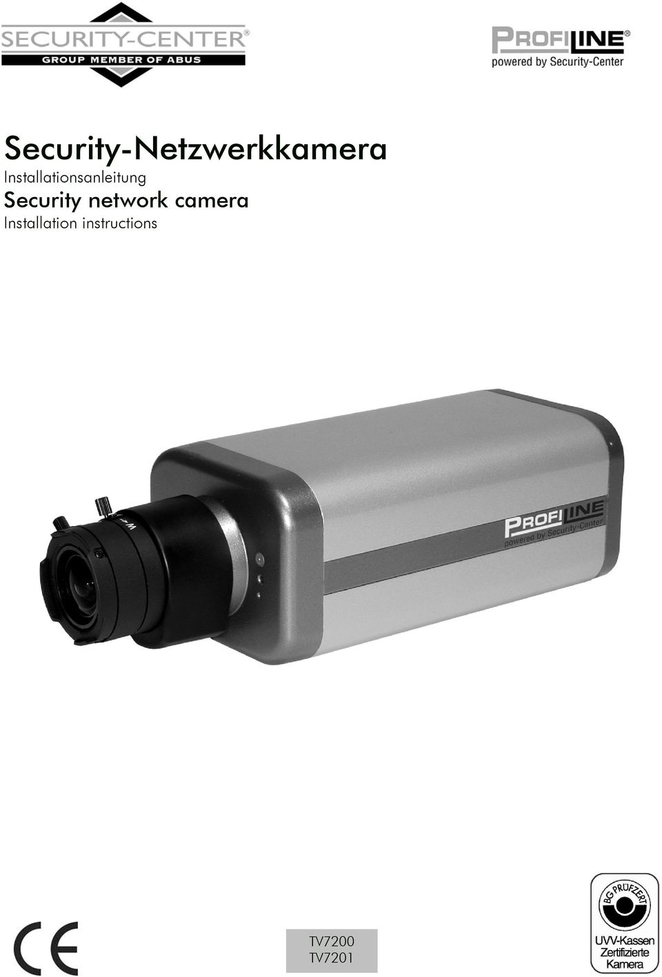 Security network camera