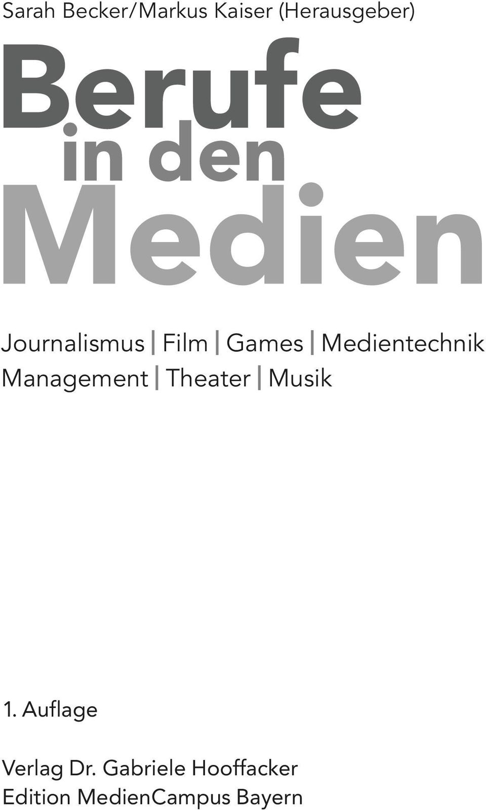 Management Theater Musik 1.