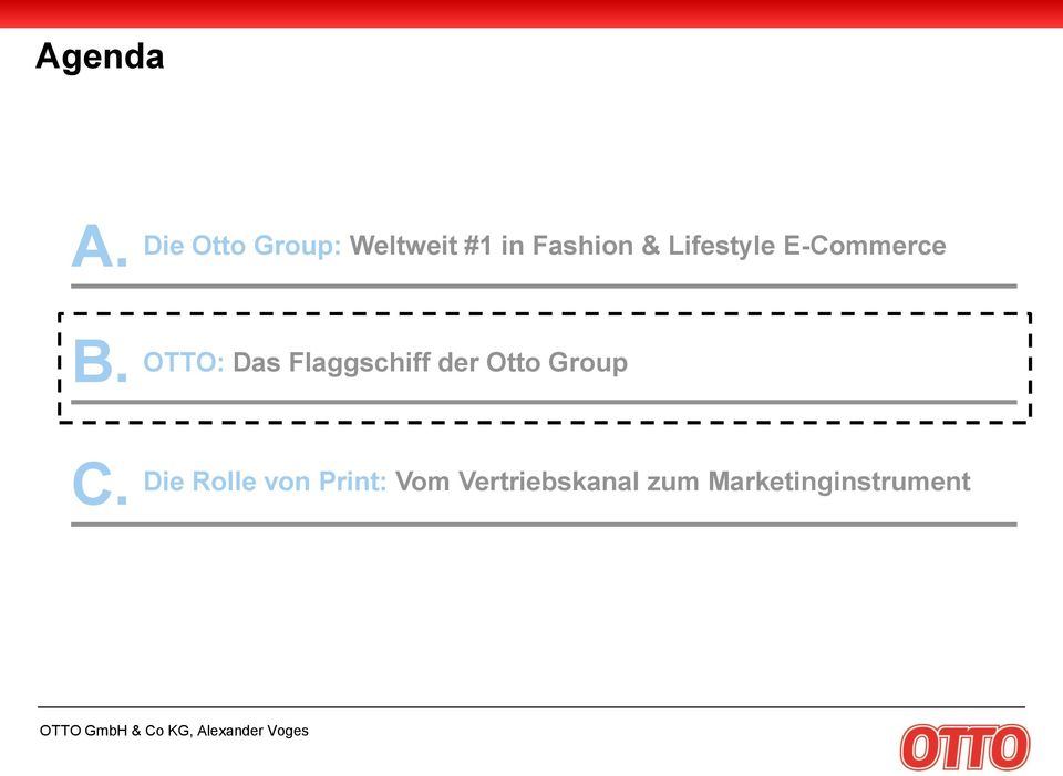 Lifestyle E-Commerce OTTO: Das Flaggschiff