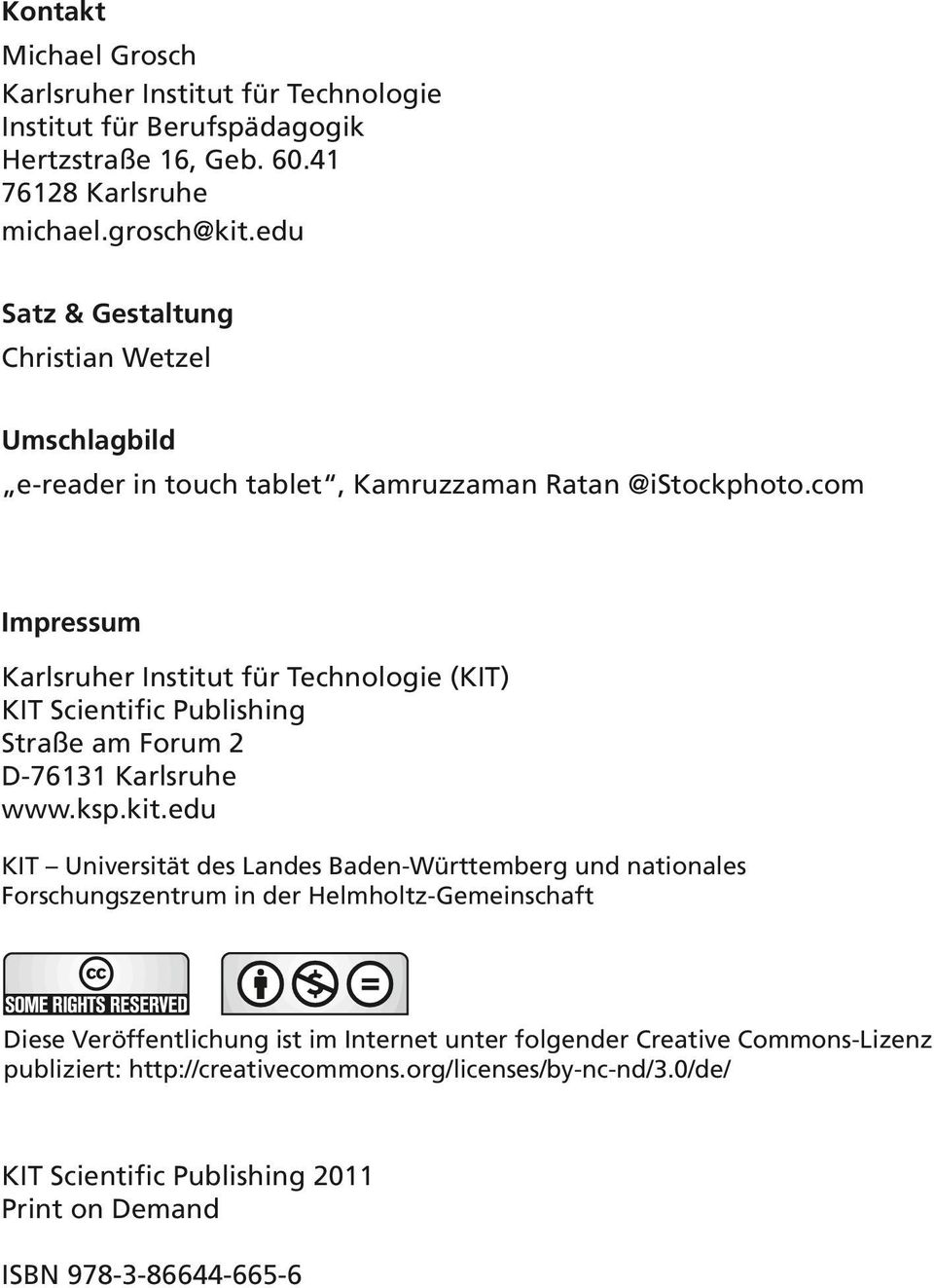 com Impressum Karlsruher Institut für Technologie (KIT) KIT Scientific Publishing Straße am Forum 2 D-76131 Karlsruhe www.ksp.kit.