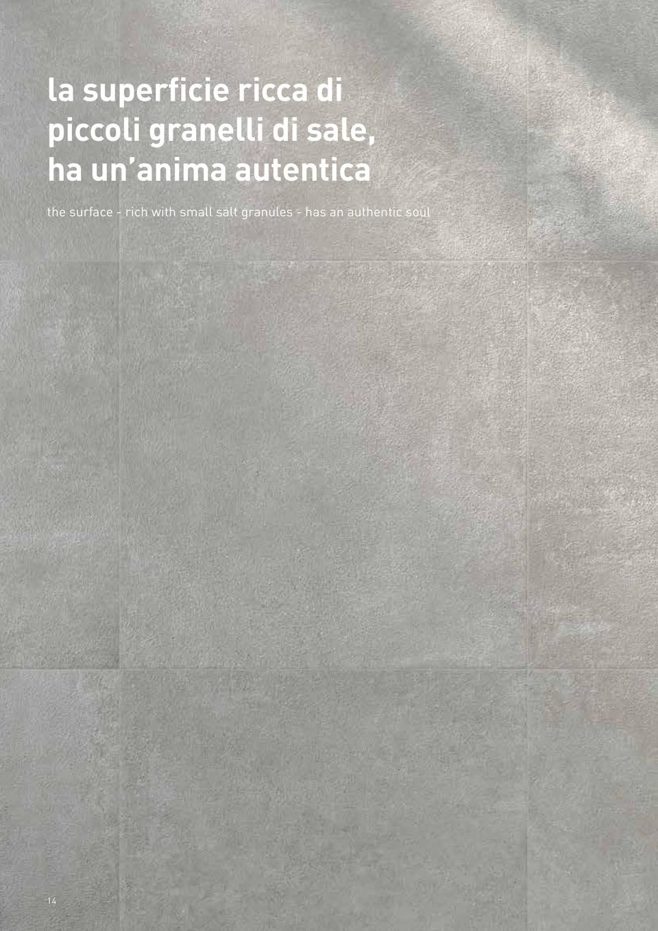 autentica the surface - rich with