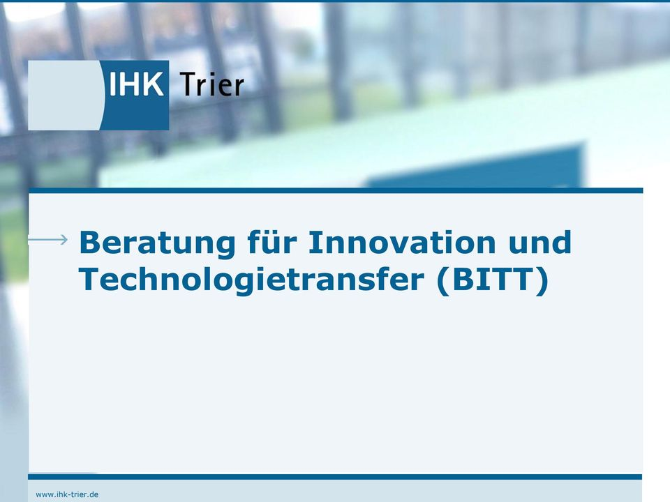 Innovation und