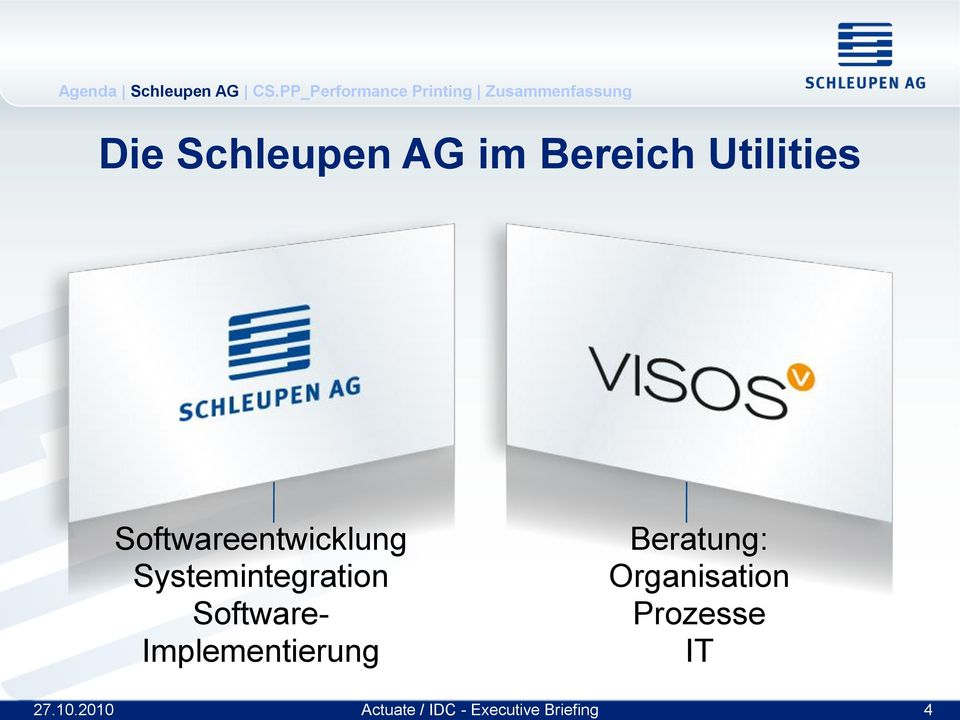 Systemintegration Software-