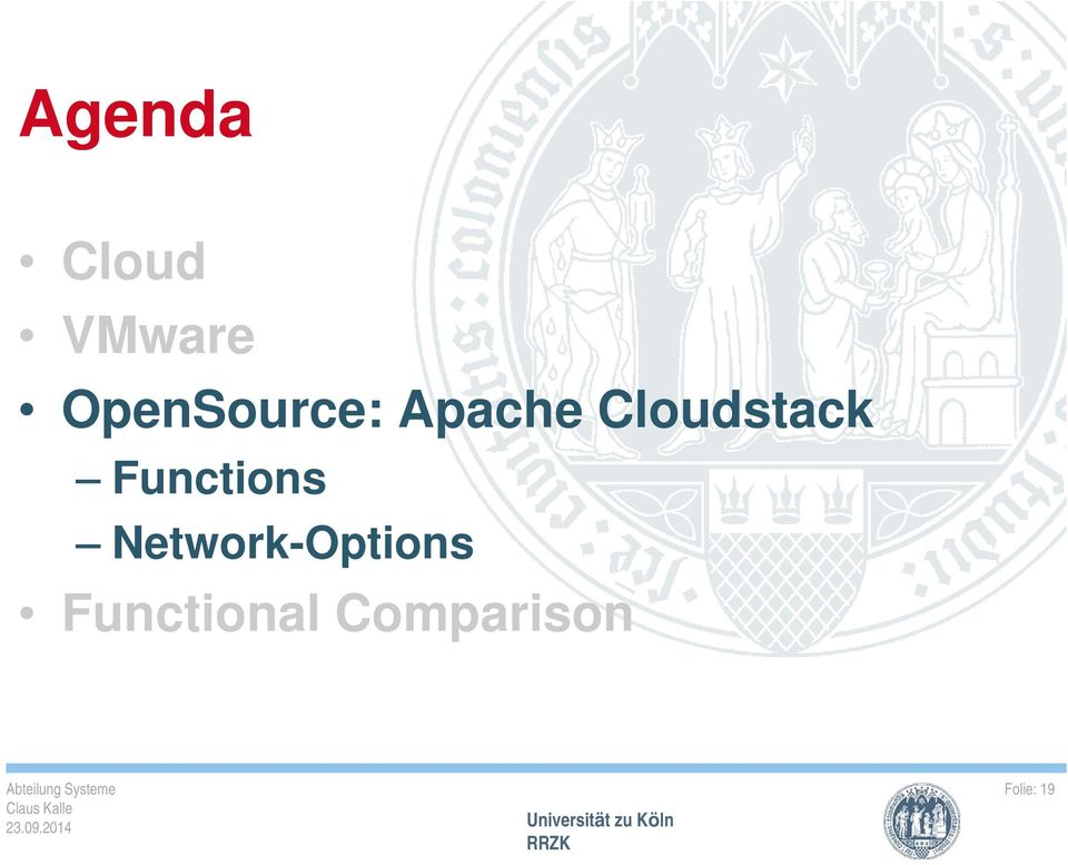 Cloudstack Functions