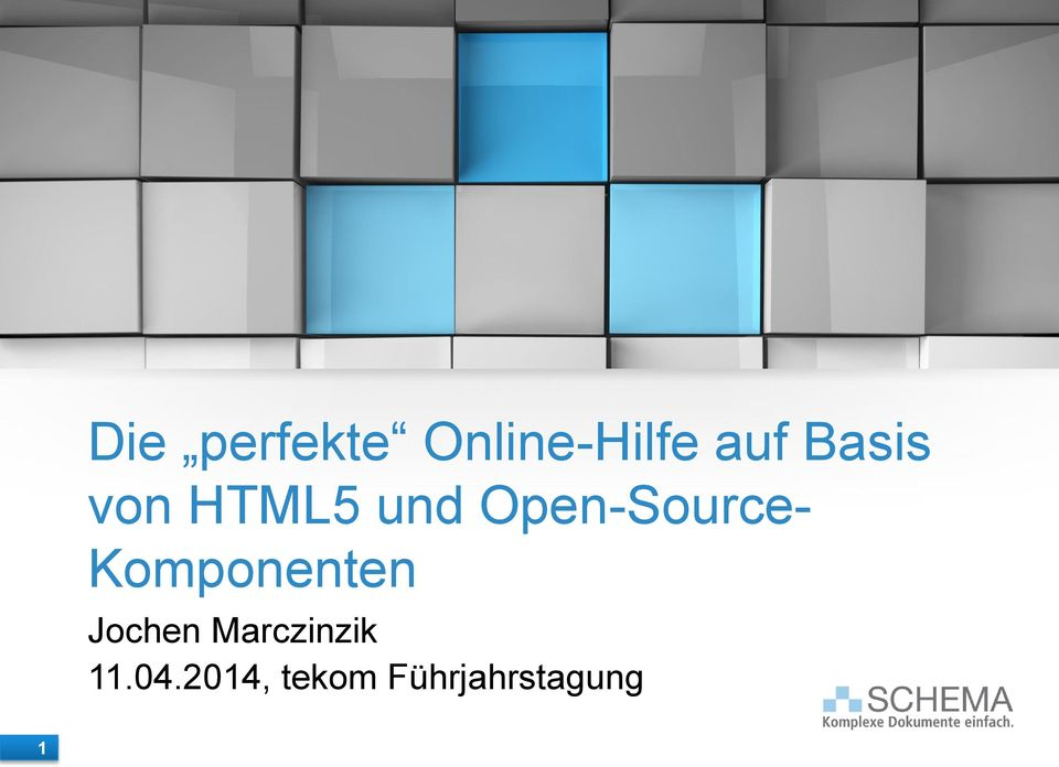 Open-Source- Komponenten Jochen