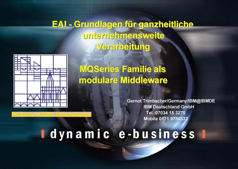 als modulare Middleware Gernot