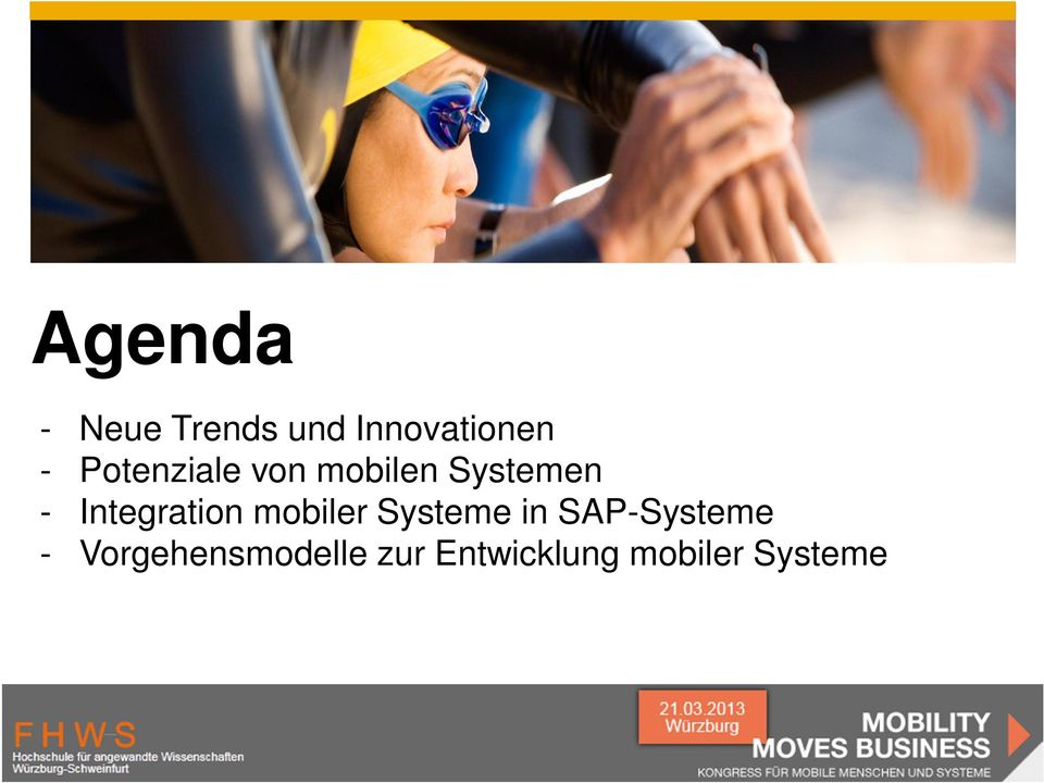 Integration mobiler Systeme in -Systeme
